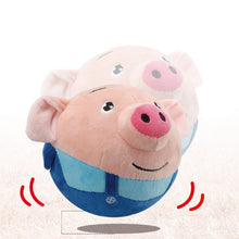 Load image into Gallery viewer, Plush Toy Pig Stuffed Animals Doll Music Piggy Educational Electric Bouncing Music Ball Toy Interactive Toys for Children Baby