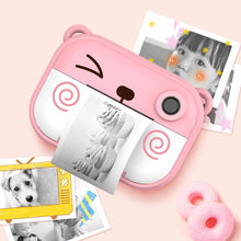 Load image into Gallery viewer, Printing Regular Snapshot Camera Skillful Design and Exquisite Appearance 2.4 inch Multi-function Film with Shoulder Strap