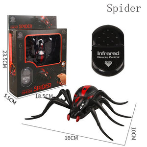 Remote Control Spider Cockroach RC Animal Infrared Toy Kit Simulation Electric robot Smart Ant Prank Jokes Radio Insect for Boys