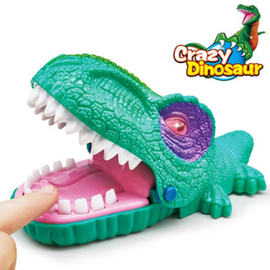 Crazy Dinosaurs Racing Track set
