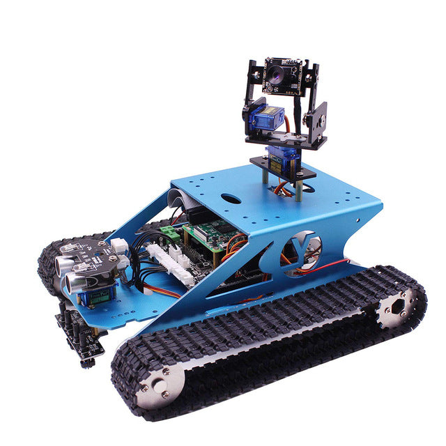 Raspberry Pi Smart Robotic Tank