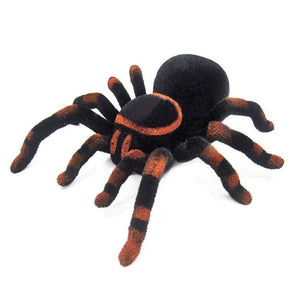 Wall Climbing Spider Remote Control Toys Infrared RC Tarantula Kid Gift Toy Simulation Furry Electronic Spider Toy For Kids Boy