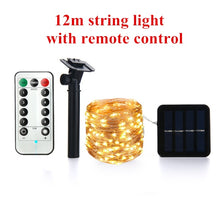 Load image into Gallery viewer, LED Solar Lamp String Lights With Remote Control