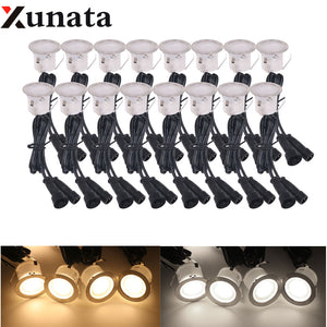 16PCS LED Deck Lights 9.8W