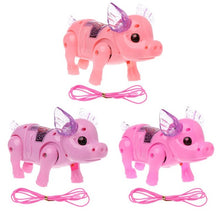 Load image into Gallery viewer, Dreamy Pig Pet With Light Walk Music Electronic Pets Robot Toys For Kids Boys Girls Gift