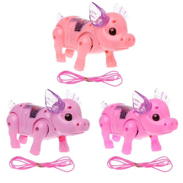 Dreamy Pig Pet With Light Walk Music Electronic Pets Robot Toys For Kids Boys Girls Gift