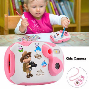 Children HD Video Camera Mini Digital Photo Camera Educational Toys Photography Christmas Gift for Boys & Girls