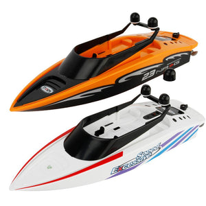 HobbyLane RC Creative Sea Boat Toys 2.4GHz Mini Radio Control Electric Racing Remote Control Boats Toys for Children Boy Gift