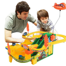 Load image into Gallery viewer, Thomas and Friends Small train set rail car multi-layer electric toy climbing stairs slide children's toys boys and girls gifts