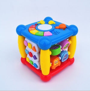 Explosive Children's Intelligence Cube Early Education Baby Intelligence Electric Baby Polyhedron Toy