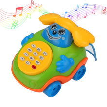 Load image into Gallery viewer, Babies Cartoon Play-A-Long Phone Toy