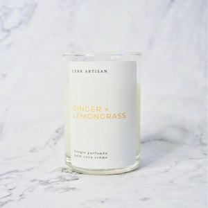[BACKORDER] Ginger + Lemongrass Candle