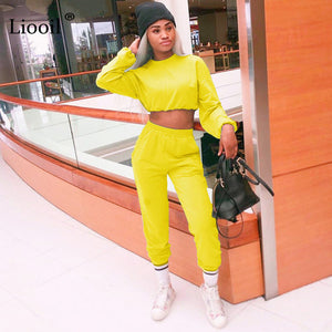 (Set And Pants Are Sold Separately) Tracksuit Women's Sports Suit Sweatshirt And Sweatpants Jogging Femme 2 Pieces Set Sweatsuit
