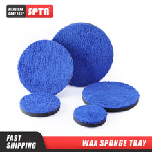 Load image into Gallery viewer, SPTA 3/4/5/6/7 Inch Microfiber Polishing Pad Removing Wax Buffer Pads Replaceable Buffing Pads Micro Fiber for DA/RO Polisher