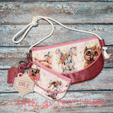 Woodland Creatures Purse Set (Handmade)