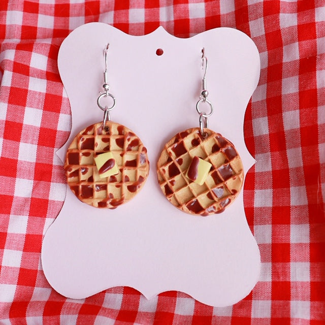 Buttered Waffle (Circles)