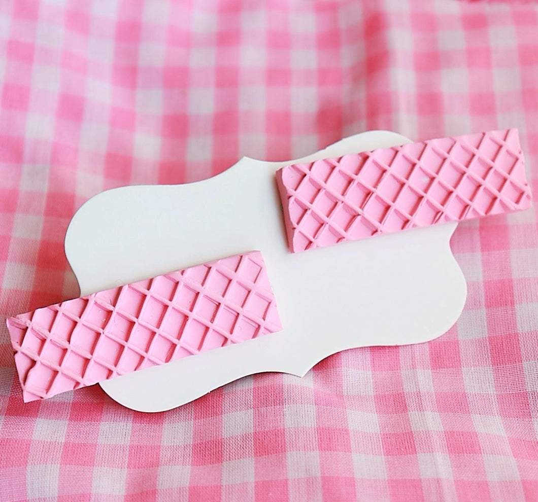 Strawberry Wafer Hair Clips