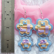 Load image into Gallery viewer, Poly-mer Pocket Earrings (B)