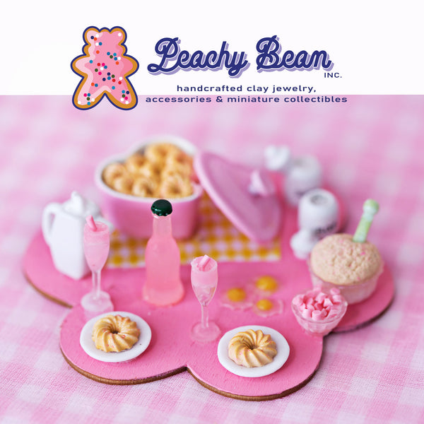 Donut Party - Miniature Food Set