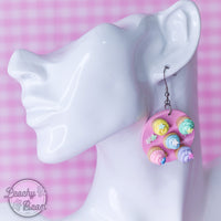 Cupcake Platter Earrings