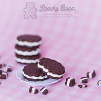 Ice Cream Sandwich Earrings - Round