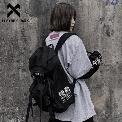 11 BYBB DARK Hip Hop Backpack