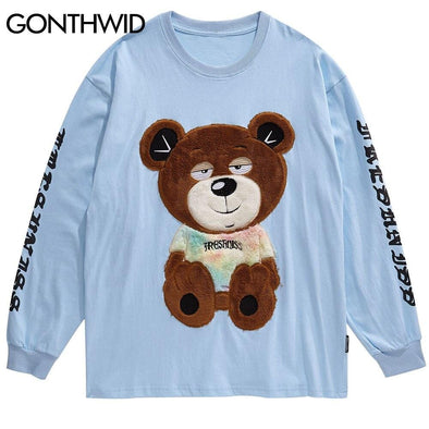 GWTW™ Embroidered Bear Long Sleeve