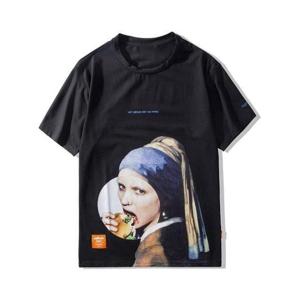 GWTW™  Girl with a Pearl Earring Tee
