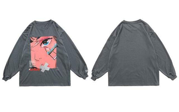 GWTW™  Anime Long Sleeve Tee