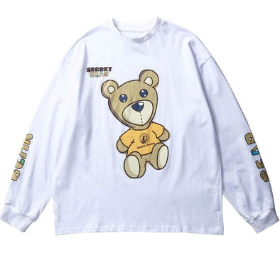 GWTW™ Secret Bear Long Sleeve Tee