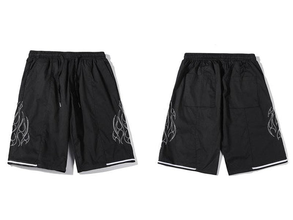 GWTW™ Embroidered Flames Shorts