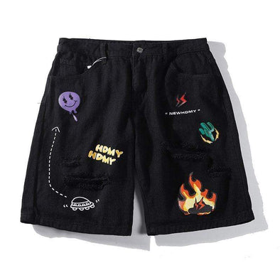 Gone With The Wind Streetwear Shorts GWTD™ Cactus Shorts