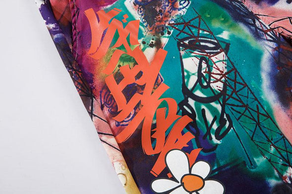 GWTW™ Graffiti Daisy Shorts