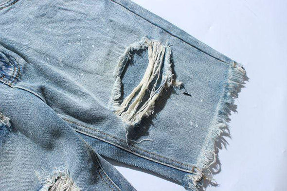 GWTW™ Kyoto Distressed Jean Shorts