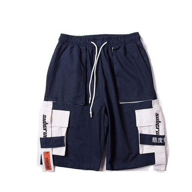 Gone With The Wind Streetwear Shorts Navy Blue / M GWTW™ Summer In Tokyo Shorts