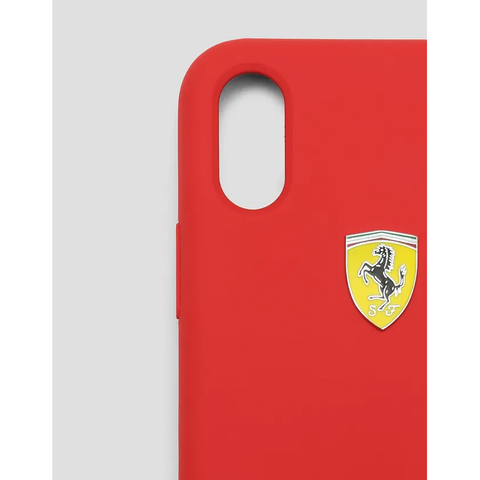 iPhone X| Xs| 11| 11 Pro Ferrari Edition Rigid Silicone Case
