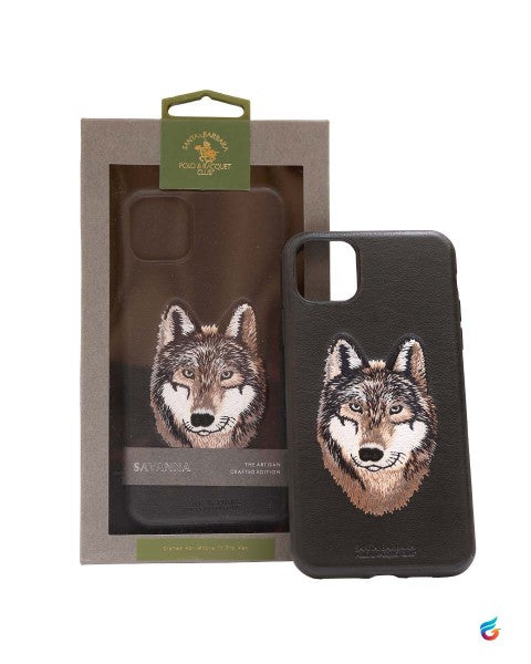 iPhone 11 Pro Santa Barbara Savanna Leather Hard Case