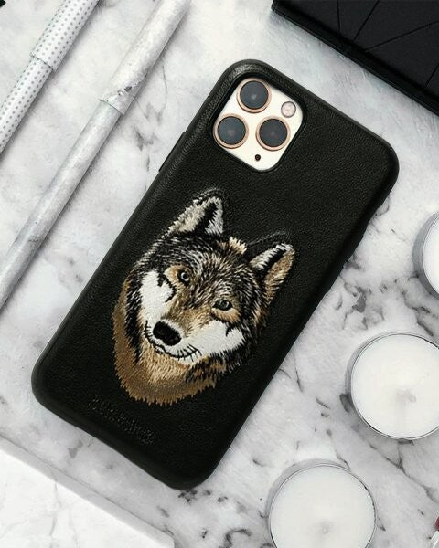iPhone 11 Pro| Pro Max Santa Barbara Savanna Leather Hard Case