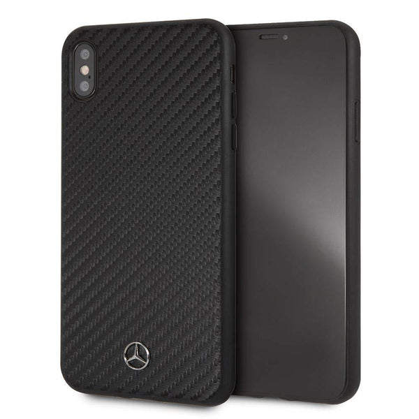 Million Trendz iPhone XS| X Mercedes Benz Carbon Fiber Hard Slim Case CG Mobile