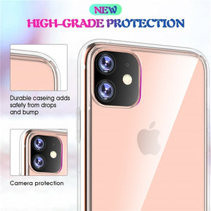 iPhone 11 Pro Max Transparent Silicone Hard Case