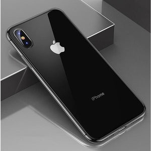 iPhone 11 Pro | XR | XS | X Transparent Silicon Clear Soft Case