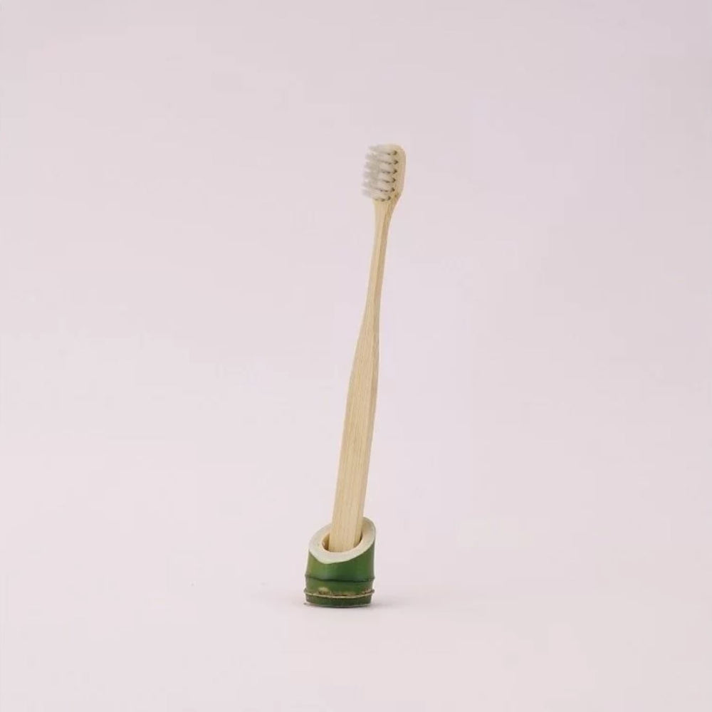 Yuantai Extra Slim Brush-head Nylon Bamboo Toothbrush (for Adult)