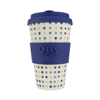 QUYCUP® 400ml 《Pois Blu》