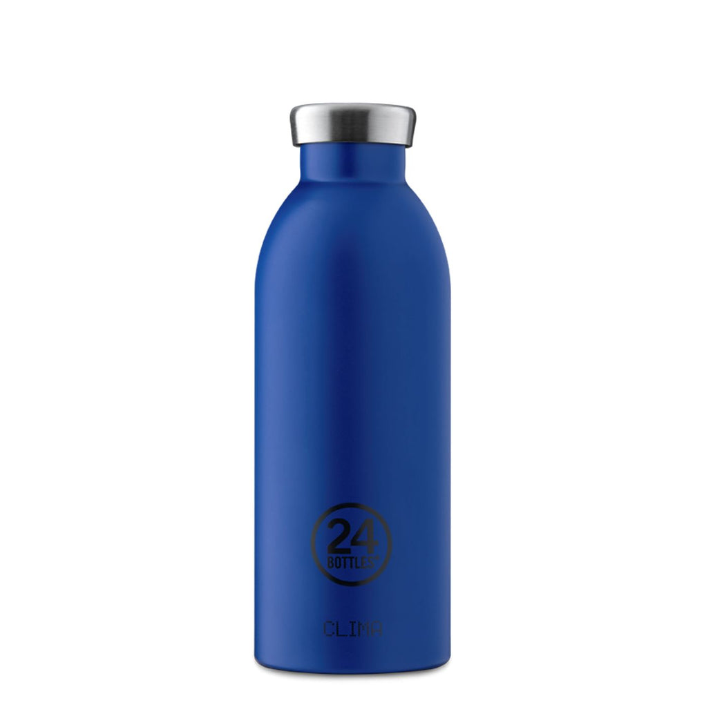 24Bottles® Clima 500ml 《Gold Blue》
