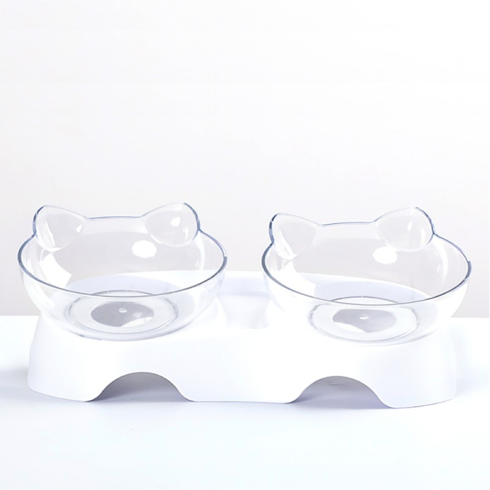 Cute Inclined Feeding Bowl