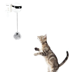 Electric Yo-Yo Lifting Ball Cat Toy - KittenLands