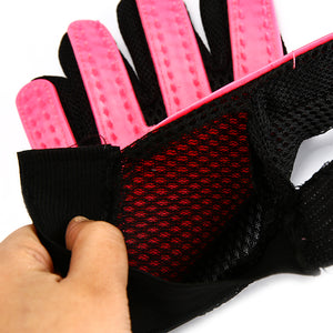 Gentle Pet Grooming Deshedding Brush Glove
