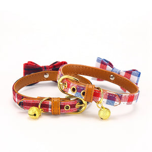 Fashion Cat Collar Bowtie with Bell