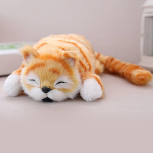 Electric Laughing Rolling Cat Doll