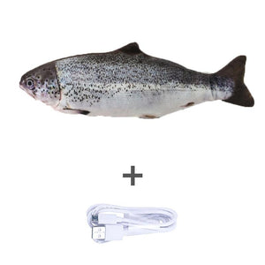 USB Rechargeable Self Moving Fish Cat Toy - KittenLands